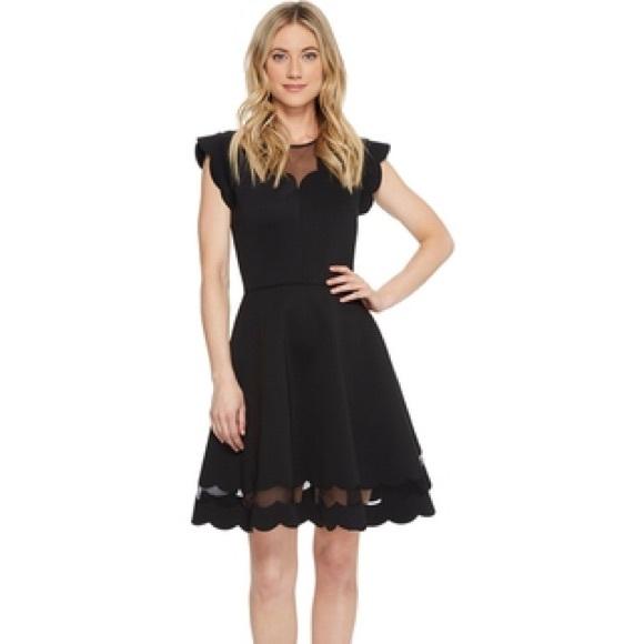 Ted Baker Dresses & Skirts - Ted Baker Sharlot scallop detail skater dress